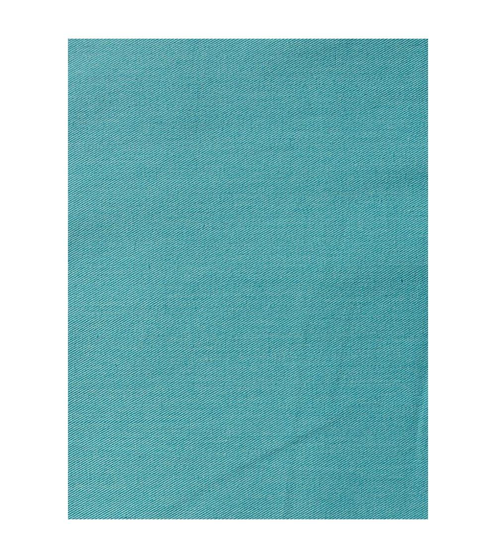 Mantel Liso color turquesa.