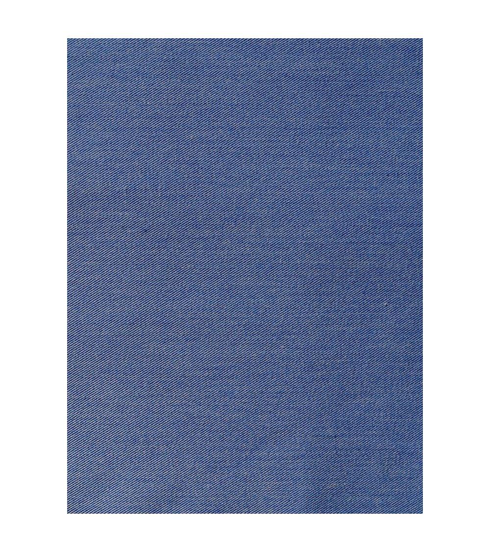 Mantel Liso color azulón.
